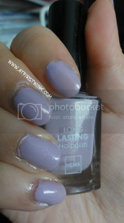 HEMA nail polish #831 Irish Lavender