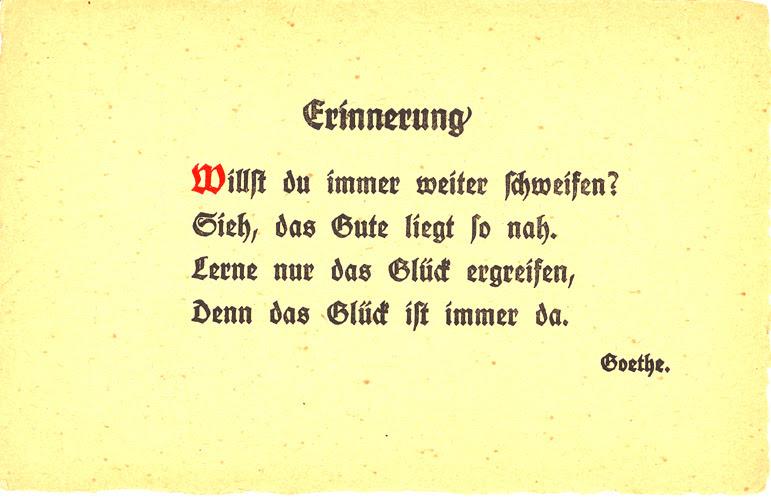 Goethe Zitate Ostern Leben Zitate