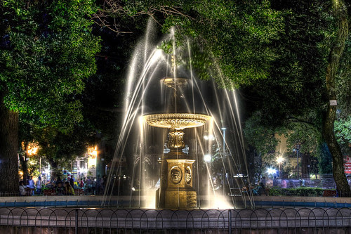 Fuente de Plaza Independencia