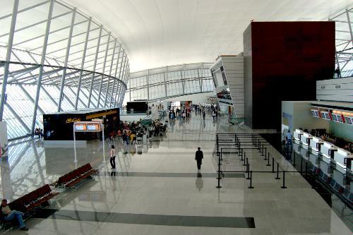 Carrasco International Airport, Montevideo.