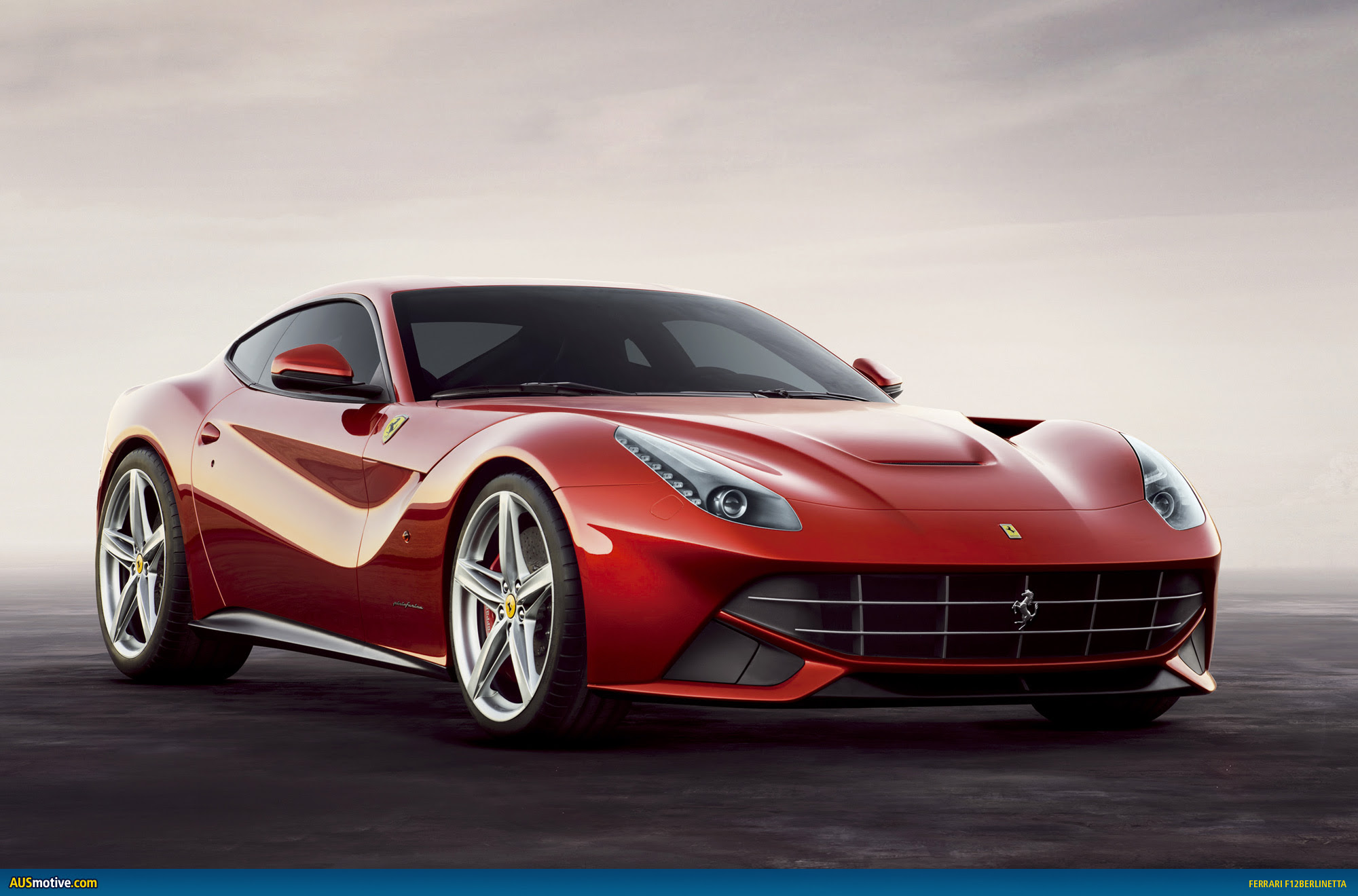 AUSmotive.com \u00bb Ferrari F12 berlinetta revealed
