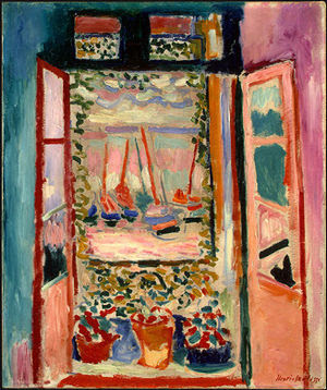 Henri Matisse, Open Window, Collioure, 1905, N...