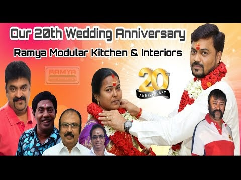 Our 20th Wedding Anniversary | Ramya Modular Kitchen