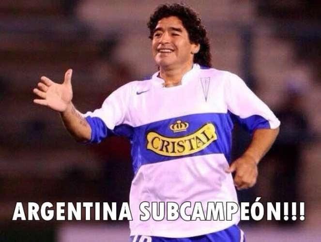 Los mejores memes de Alemania 1 - Argentina 0 #Brasil2014