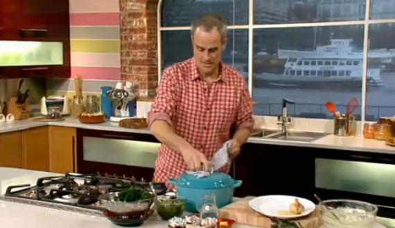 Phil Vickery makes Pot Roast Chicken with garlic ...