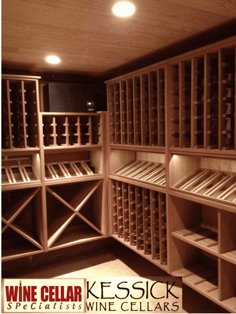 Contemporary Wooden Wine Cellar Racks from Kessick | Wine Cellar ...