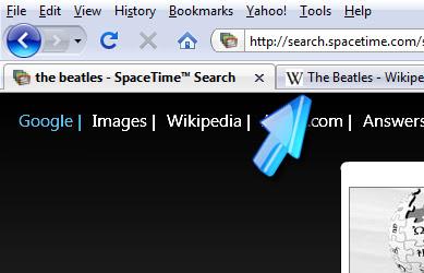 Tabbed Browsingi using Visual Search