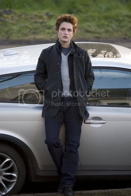 EDWARD IN THE VOLVO Pictures, Images and Photos