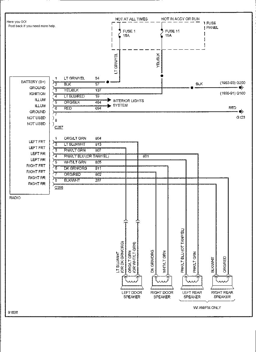 2011 Ford Explorer Wiring Diagram