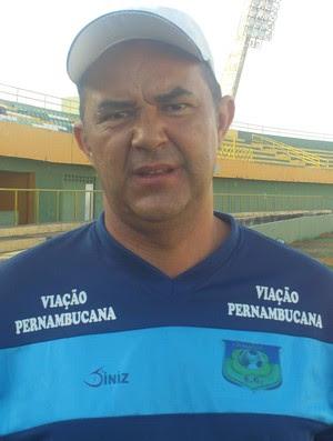 Roni Araújo é o novo treinador do Santa Cruz-RN (Foto: Crato Esporte Clube / Divulgação)