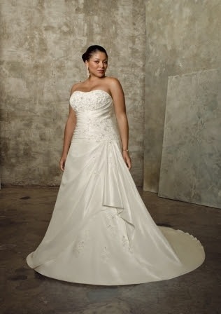 plus size bridal dresses