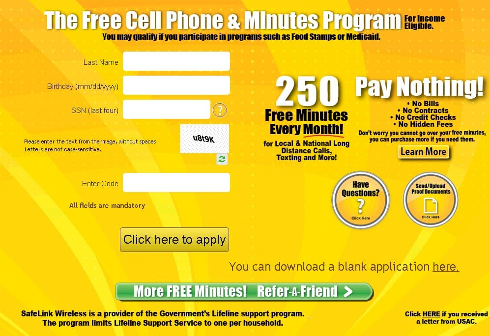Are You Eligible For The Safelink Wireless Government Program