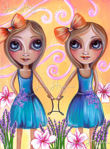 """Gemini"" Painting by Jaz Higgins"