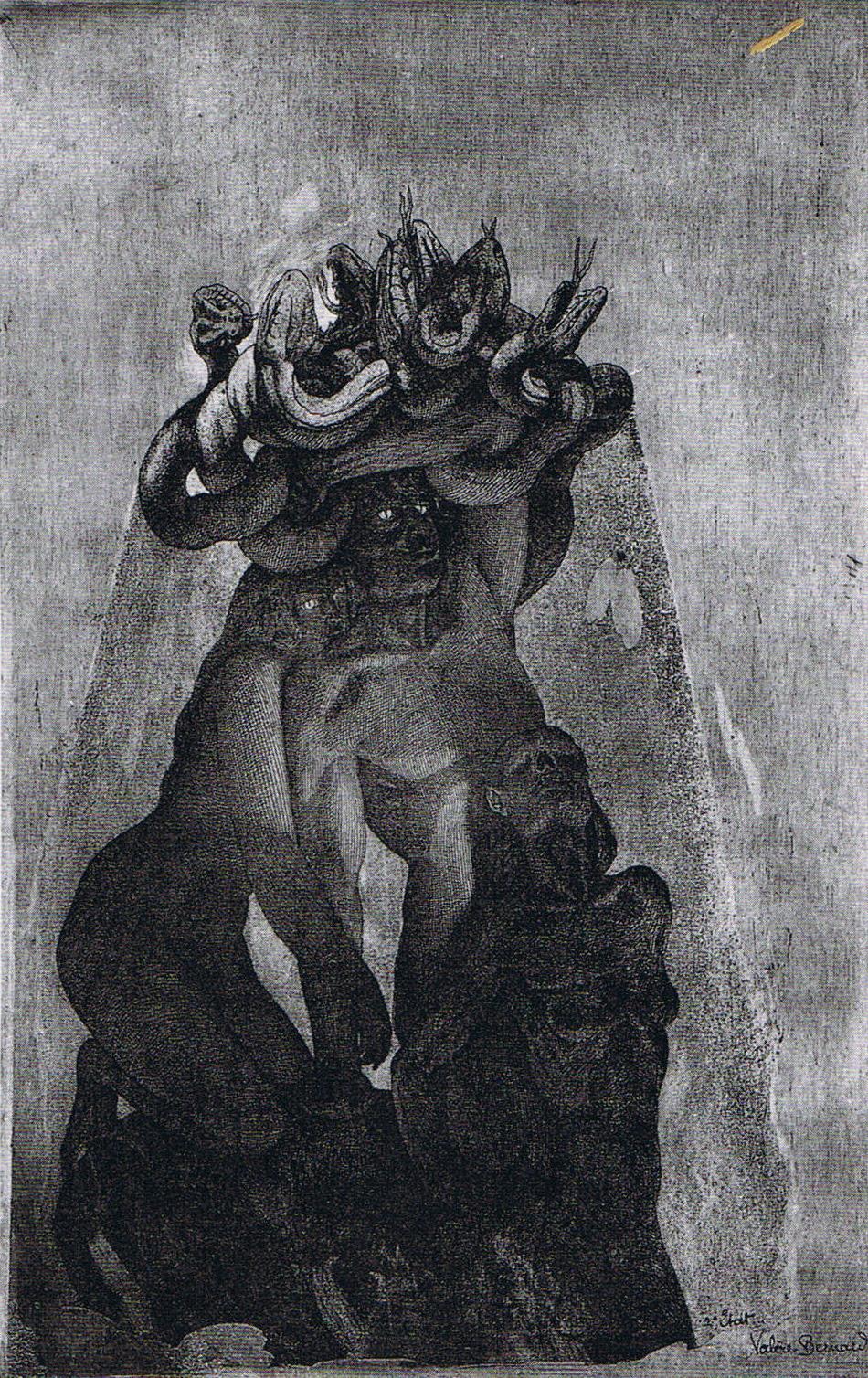 Valère Bernard - Figures (Méduse)