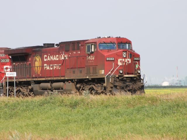 CP 9683 at Kearney near Regina, SK