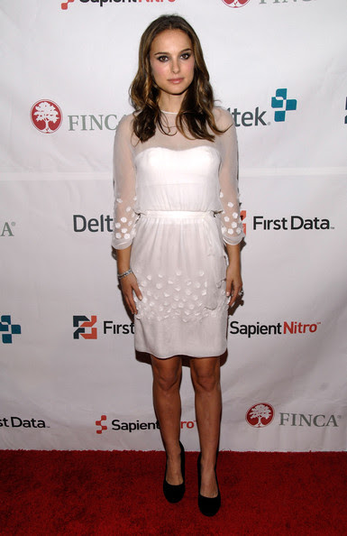 Natalie Portman FINCA Ambassador of Hope, actress Natalie Portman attends the FINCA 25th Anniversary gala event at Capitale Bowery on November 18, 2010 in New York City.