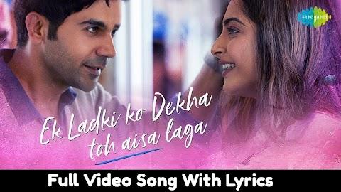 Lyrics Ek Ladki Ko Dekha To Aisa Laga