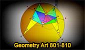 Online Geometry Art 801-810.