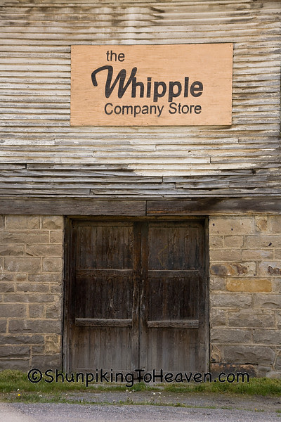 Historical Whipple Company Store, Built 1890 by Coal Baron Justus Collins, Fayette County, West Virginia
