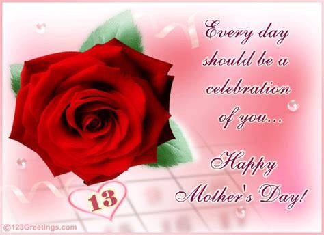 A Special Message. Free Happy Mother's Day eCards