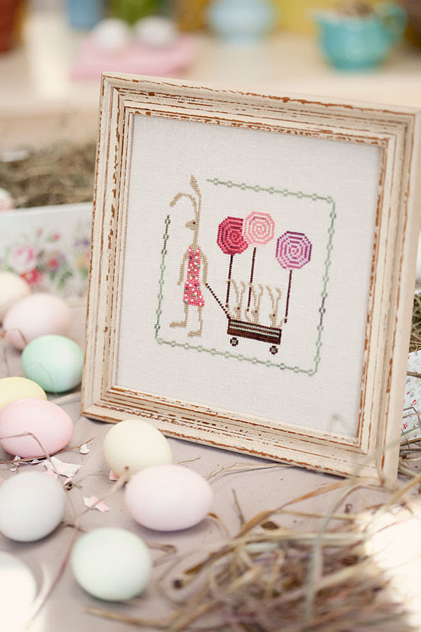 Hare's Spring (Plum Street Samplers)