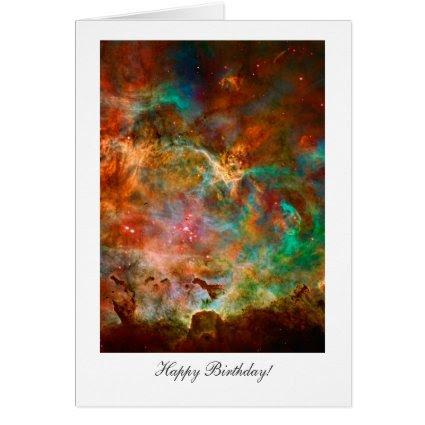 Happy Birthday, Happy Returns, Carina Nebula Stars Cards