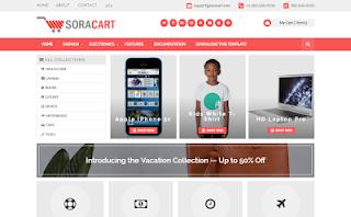 Sora Cart Blogger Template