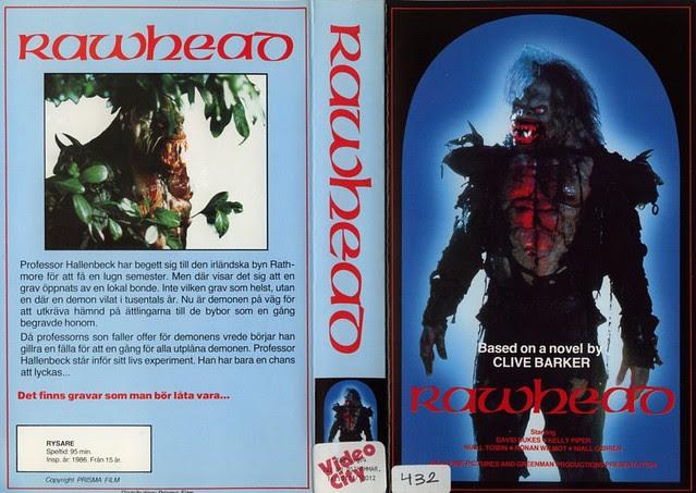 Rawhead Rex (VHS Box Art)