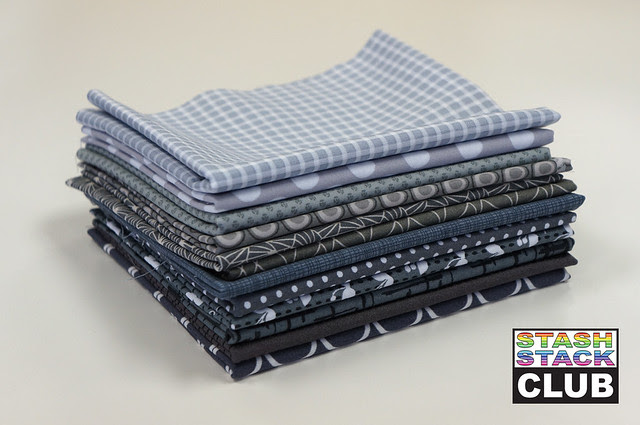 Stash Stack Club Gray Bundle for Fabric GIveaway Friday!!