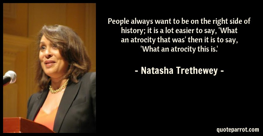 People Always Want To Be On The Right Side Of History By Natasha
