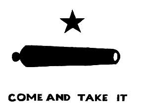 Old Come and Take It Flag