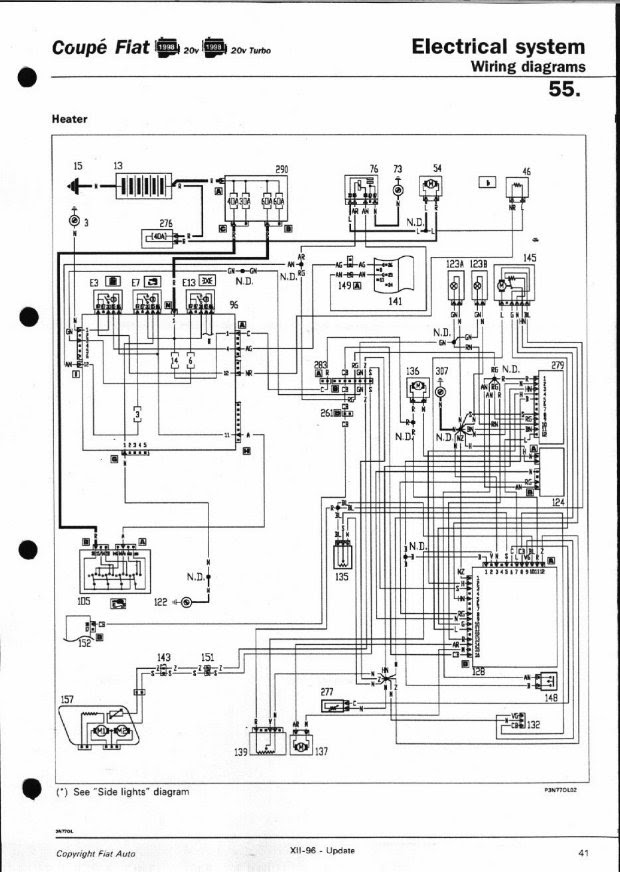 Fiat Coupe Wiring Diagram