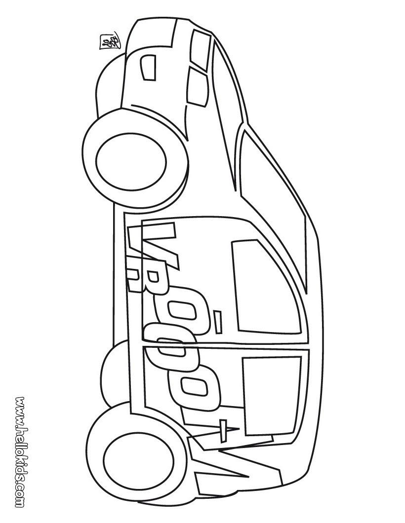 formel 1 auto malvorlage