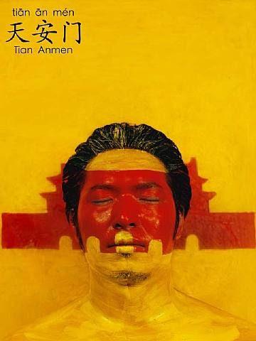 Liu Bolin, Learn by figure. Tian An Men