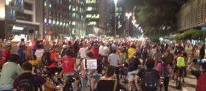Ciclistas do Brasil e do mundo farão ato para apoiar ciclovias de São Paulo