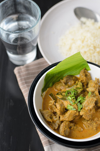 Chicken Giblets Curry