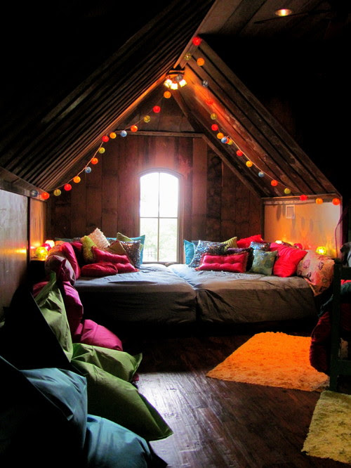 DIY Interior Design Ideas for the Home - DIY Dreamy Bohemian Attic Bedroom Space | Live Love in the Home
