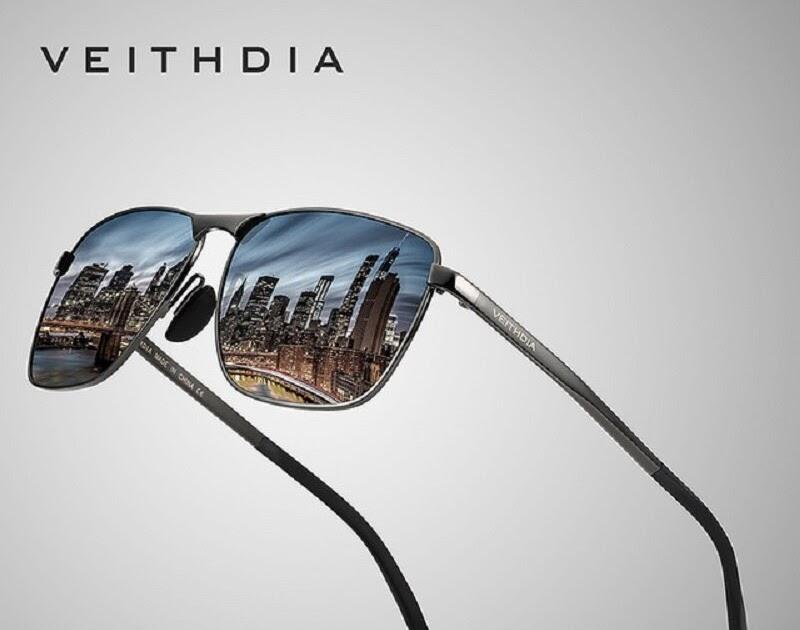 36bacb44ad Comprar VEITHDIA De Marca Diseñador Para Hombres Vintage Gafas Sol  Polarizadas Lente Accesorios Hombre Hombres mujeres VT2462 Online Baratos ~  ...