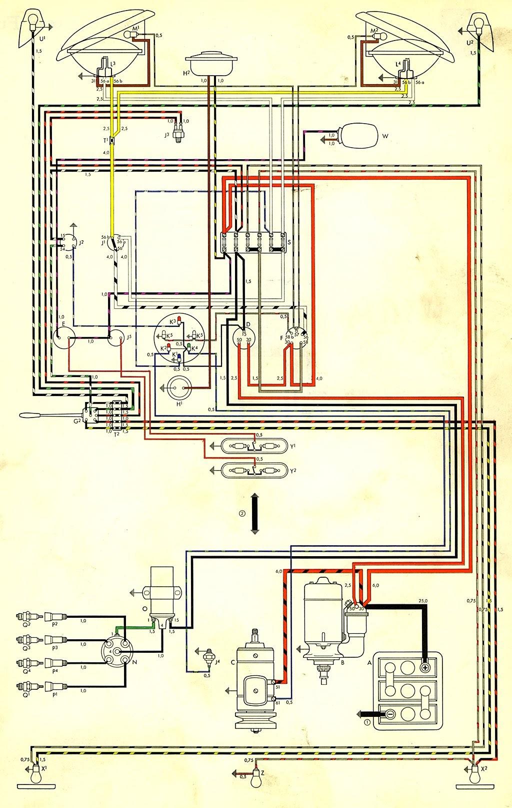 Diagram Vw Beetle Generator Wiring Diagram Thesamba Gallery Full Version Hd Quality Thesamba Gallery Tinydiagrams Creasitionline It