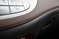 2011 Hyundai Genesis Sedan dash trim