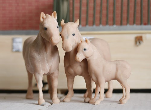 Stallion, Mare and Foal.