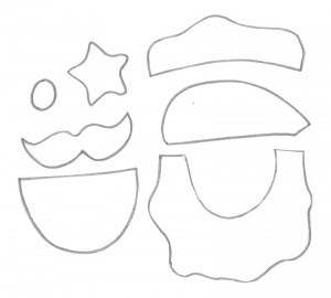 molde como fazer porta panetone eva presentar lembrancinha natal  (3)