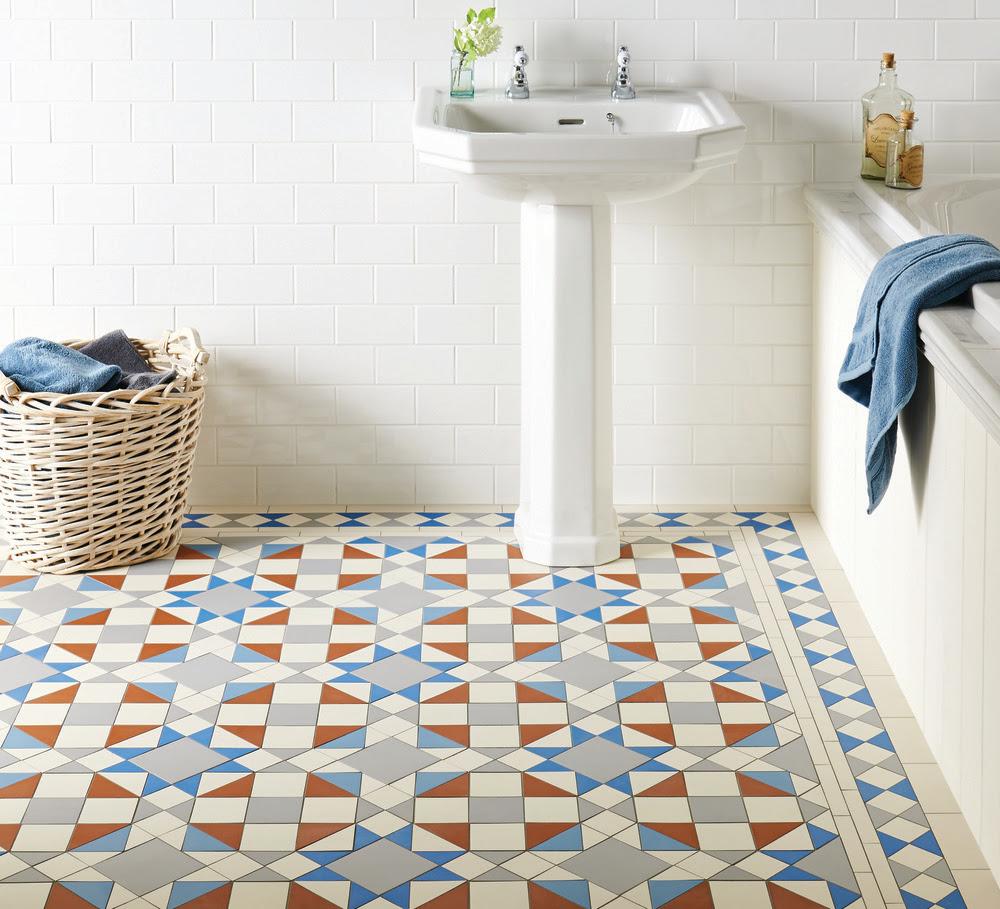 Original Style Extends Geometric Victorian Floor Tile ...