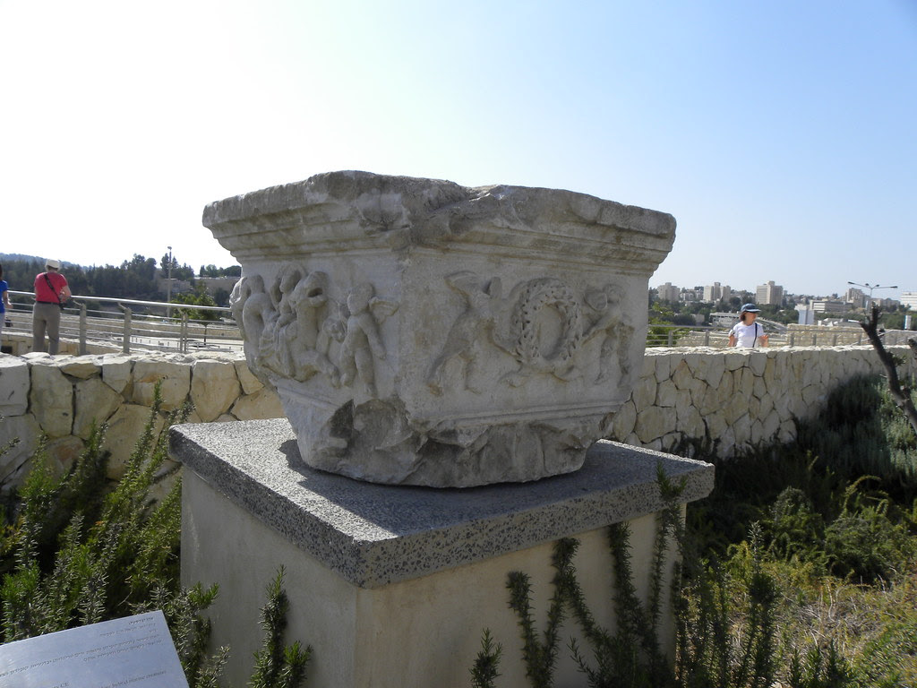 Pedestal with Cupids