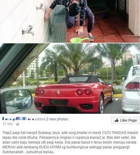 Norman KRU Terkejut Dengar Berita Dirinya Cuci Masjid Di Subang Jaya