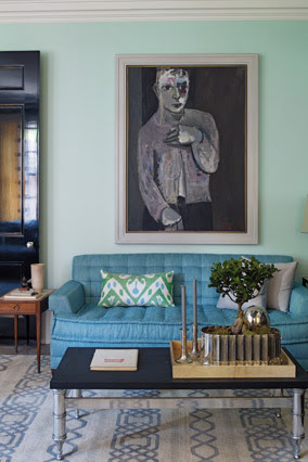 Blue and White Decorating Ideas - How to Decorate with Color - Oprah.