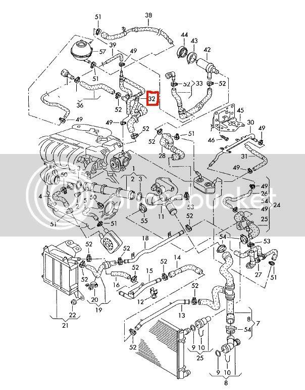 Wiring Diagram  7 2001 Vw Jetta Coolant System Diagram