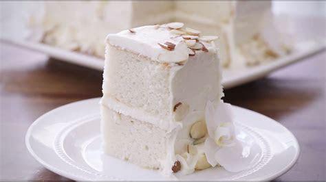 How To Make White Almond Wedding Cake   Dessert Recipes