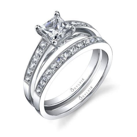 Célestine   Princess Cut Solitaire Engagement Ring   SY709