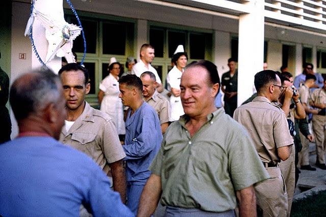 Bob Hope at 3rd Field Hospital